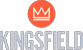 Kingsfield - Logo Blau