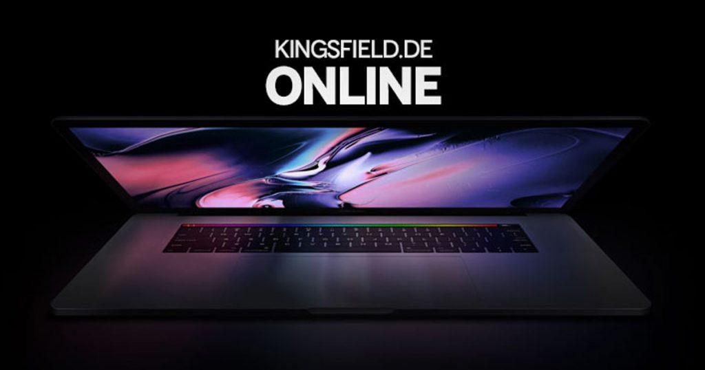 Kingsfield - Webseite Online